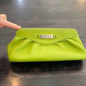 Cole Haan leather pouch/cosmetic holder